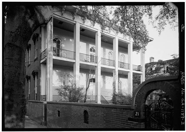 Mercer House 429 Bull Street Savannah Chatham County Ga